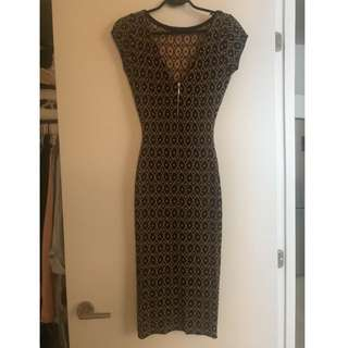 Zara Heavy Knitted Dress. Fits Like A Glove.