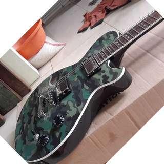 electric gitar model army made in korea
