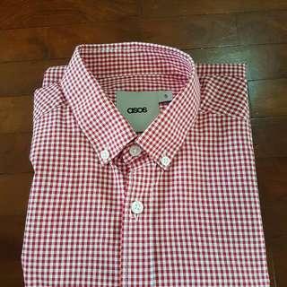 ASOS Red & White Shirt