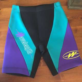 Women's Wavelength Wetsuit Shorts Medium Fits From 8 , 10 , 12 Sizes