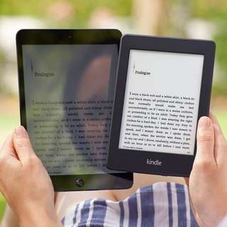 Kindle Paperwhite 2015 Amazon + Black Cover + Screen Protector
