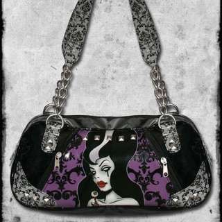 Sourpuss Bag - Emo Alternative Goth Gothic Scene Rockabilly