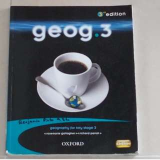 Geog.3 Textbook - Geography
