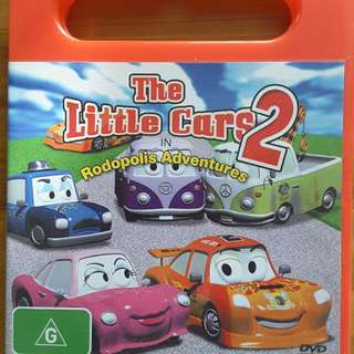 Dvd The Little Cars 2