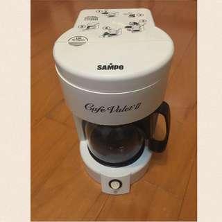 聲寶sampo滴露式咖啡機