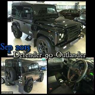 Sep 2015 Land Rover Defender 90