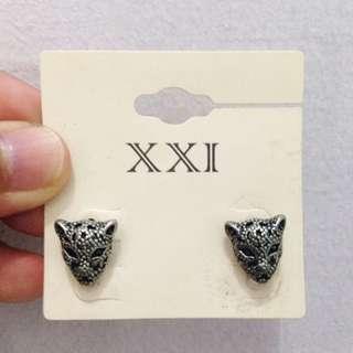 Tiger Earrings