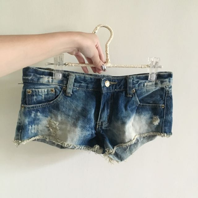 任選兩件150✨水洗牛仔短褲