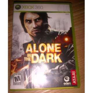 bd game Xbox360 Alone in The Dark