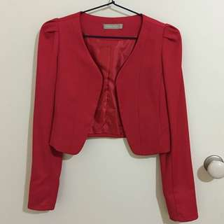 Forcast Tailored Cropped Blazer