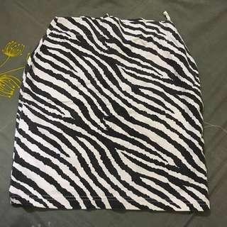 Animal Printed Skirt