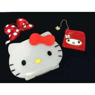 開學季🎉凱蒂貓kitty文件 多用 收納盒🎀 超級可愛!限量少見款哦✨