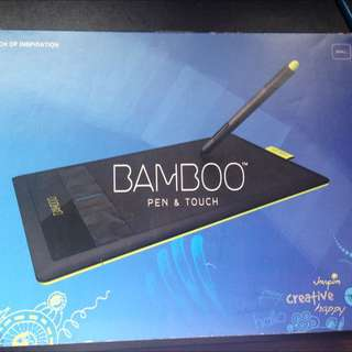 Wacom Bamboo Pen and Touch Tablet