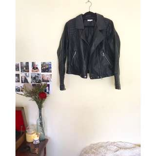 Lily Loves Faux Leather Jacket