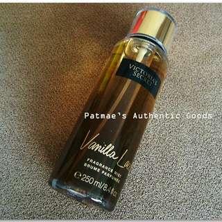 Victoria's Secret 250mL Fragrance Mist Vanilla Lace NEW Bottle