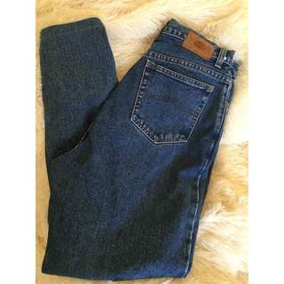 Mom Jeans 90's High Waisted Denim Vintage