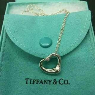 Tiffany 蒂芬妮心型項鍊 小號 9.5成新