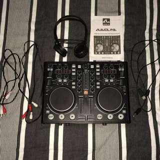 Audioline DJ Controller/Mixer