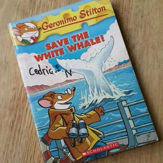 Geronimo Stilton - Save The White Whale!