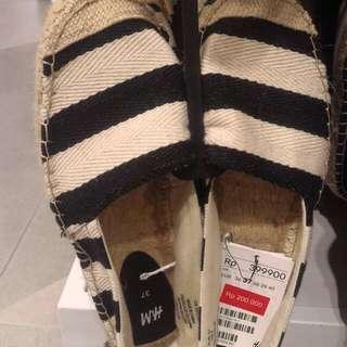 H&M Stripe Espadrilles