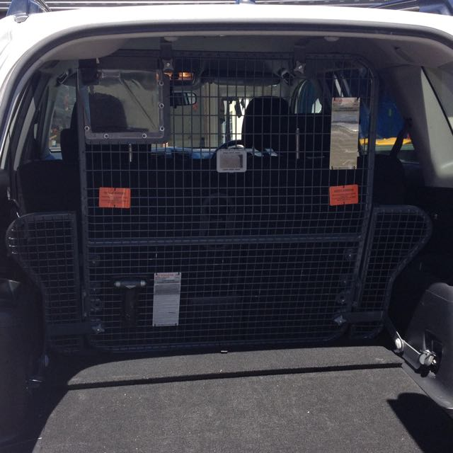 2010 RAV 4 Cargo Barrier