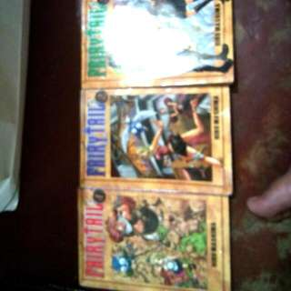Fairytail 1,2,3 And 4