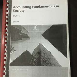 Accounting Fundamentals In Society