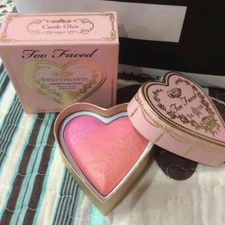 NEW : TOO FACED HEART BLUSH (CANDY GLOW)