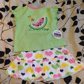 BNWT 3-6 Summer Outfit