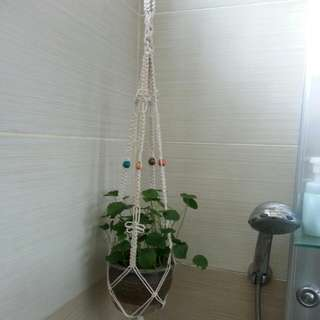 🌷🌞🍁⛄Handmade Macrame Pot Hanger - Four Seasons
