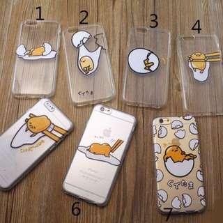 蛋黃哥 Iphone 6s/6s+ 透明邊框 全包邊 矽膠 軟殼 手機殼
