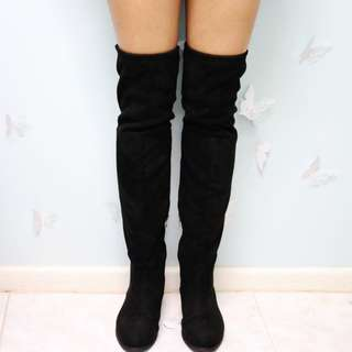 Thigh High Suede Boots Size 9