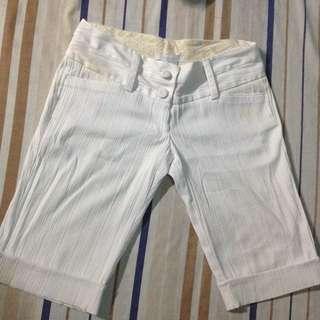 White Tokong Shorts