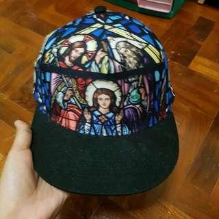 Topman Holy Trinity Snapback Cap