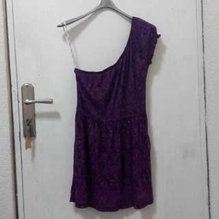 Heritage by Forever 21 One Shoulder Summer Dress