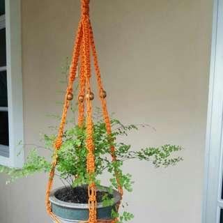 🌱🌱🌱Handmade Durable Outdoor Macrame Pot Hanger- Forever