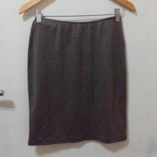 Forever 21 Brown Bodycon Skirt