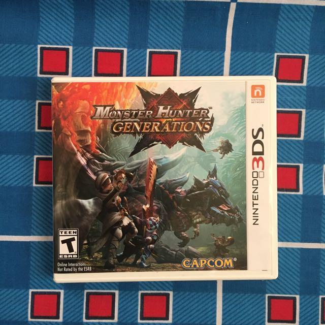 3DS game - Monster Hunter Generations