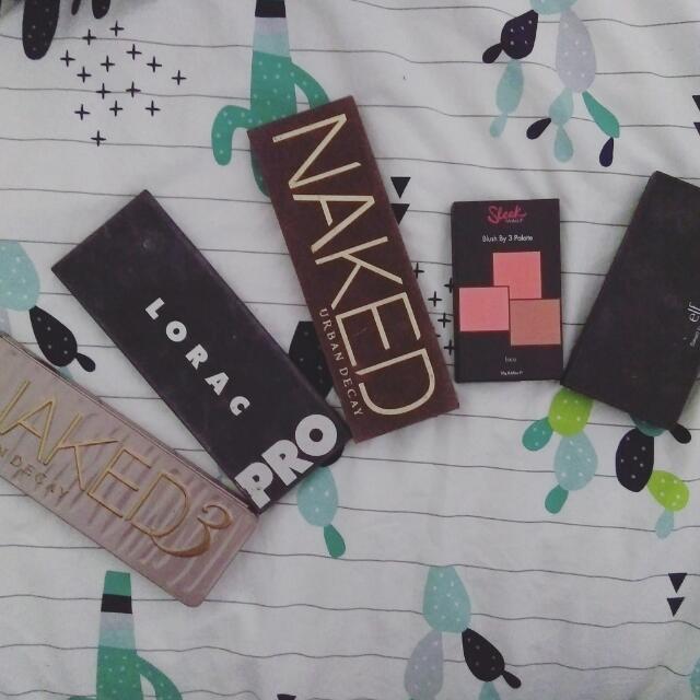 5 Makeup Palettes