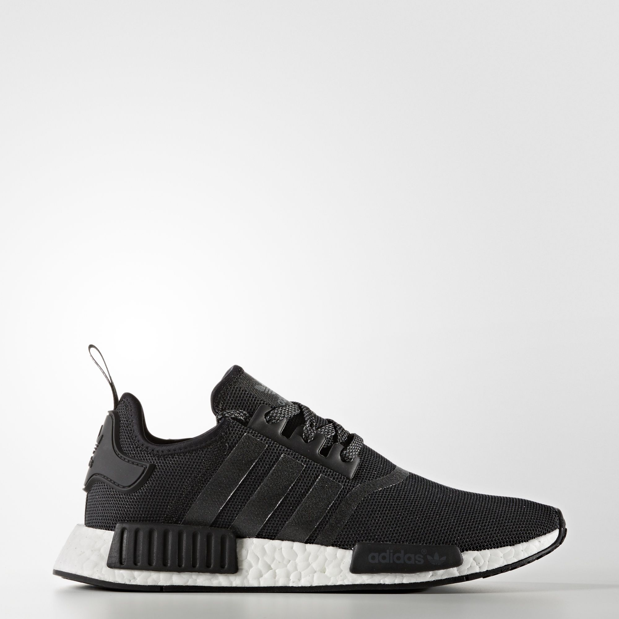 6d9eefd49775 Adidas NMD R1  White Core Black