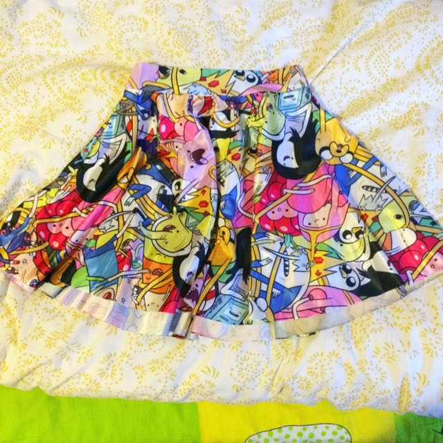 Adventure Time Circle Skirt