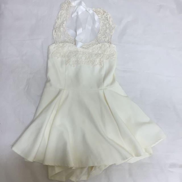 Airspace 蕾絲綁帶洋裝