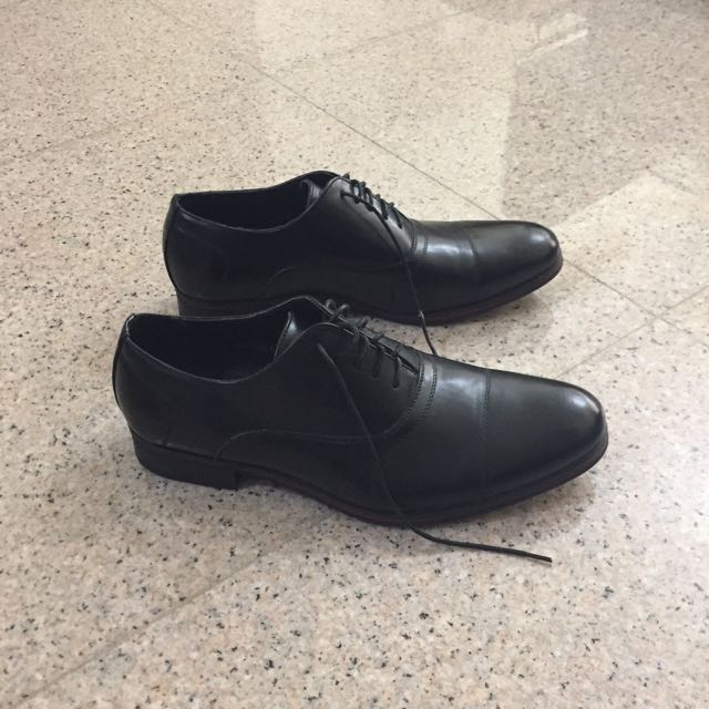 Bata Men's black shoes