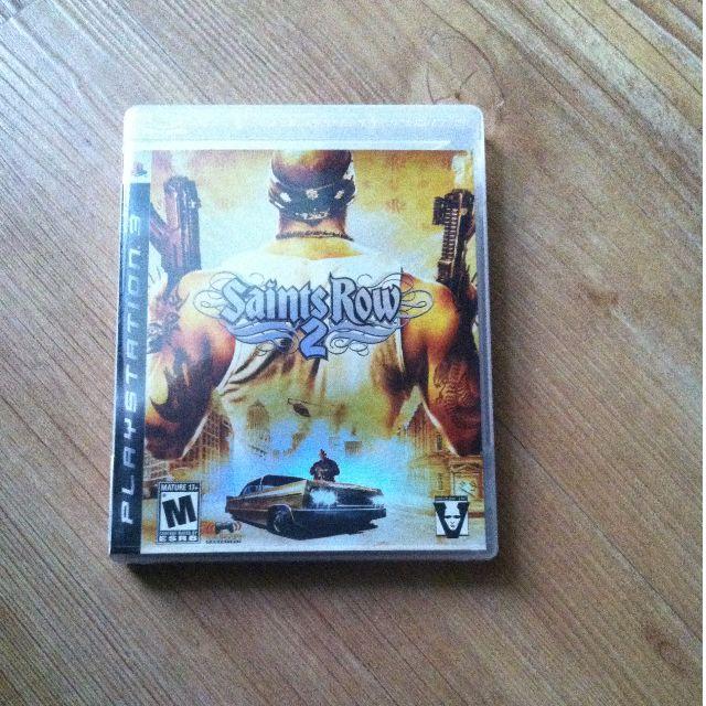 bd game PS3 Saint Row 2