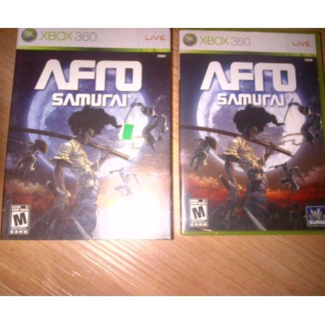 bd game Xbox360 Afro Samurai