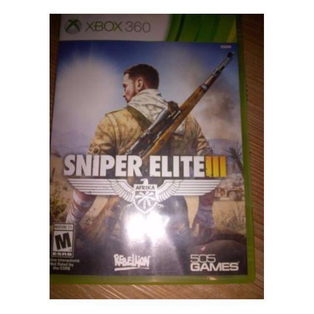 bd game Xbox360 Sniper Elite III