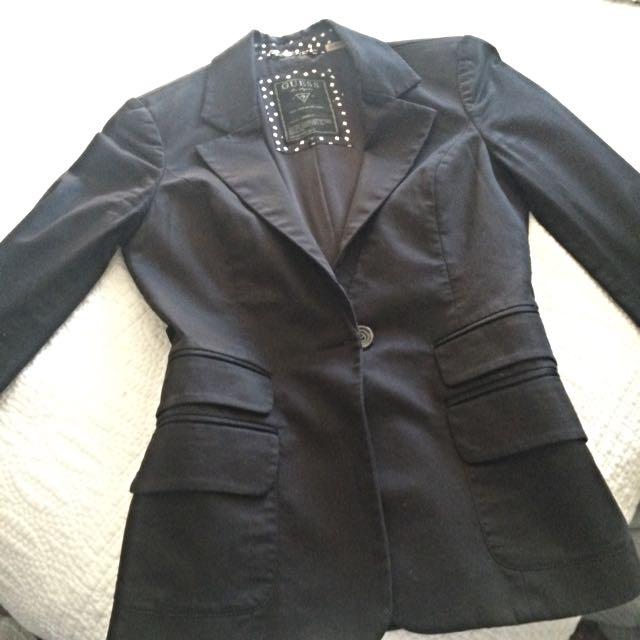 Black Guess Blazer