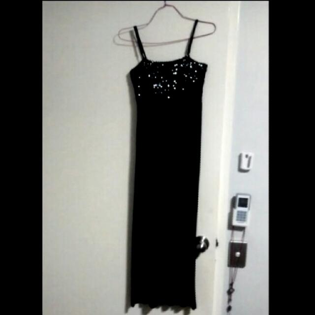 Black Sparkly Dress