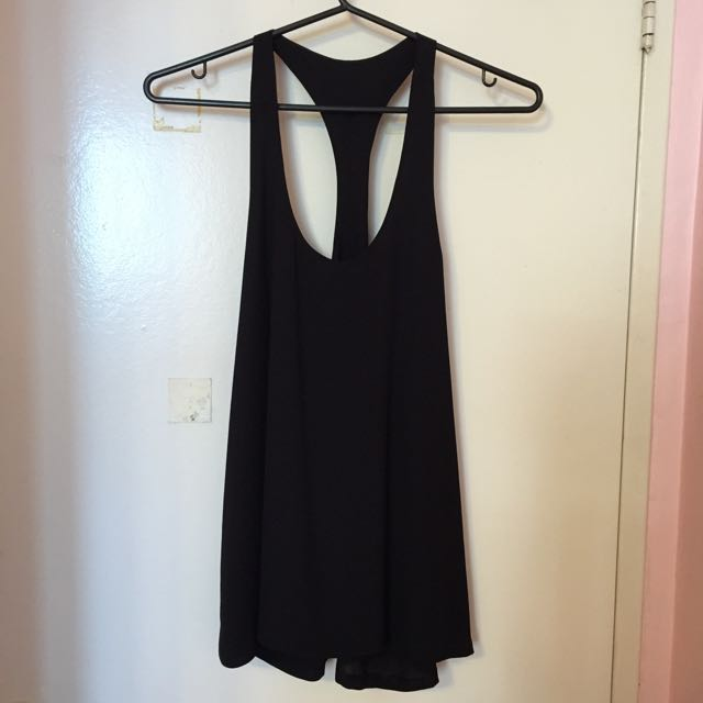 Black Tank Top From Paris