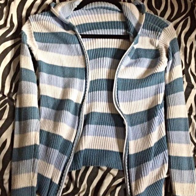 Blue & White Stripes Jacket